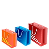 Векторный клипарт: пакетов для покупок