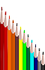 Vector clipart: Colors set pencils