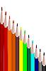 Colors set pencils