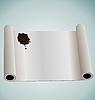 Векторный клипарт: Иллюстрация рулон бумаги сургучом коричневый