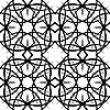 Vector clipart: sieamles tile ornate pattern