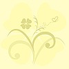 Vector clipart:  cute flowers background