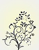Vector clipart: Flower pattern