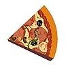 Векторный клипарт: Реалистичная пиццы