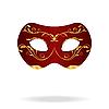 Векторный клипарт: Иллюстрация реалистичные маски карнавал или театр
