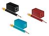 Векторный клипарт: Высокая деталь карандаш и точилка для карандашей