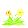 Vector clipart: spring flowers