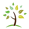 Vector clipart: tree icon