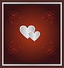 Vector clipart: The Valentine's day