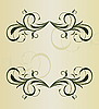 Vector clipart: Vintage background card for design