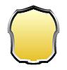 Vector clipart: gold banner