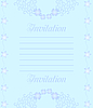 Vector clipart: A beautiful luxury wedding invitation