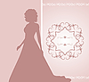 Vector clipart: wedding invitation or card