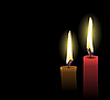Vector clipart: Christmas Candles