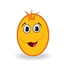 Vector clipart: easter egg character