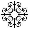Vector clipart: shod ornate