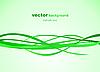 Векторный клипарт: Абстрактный зеленом фоне