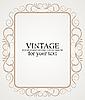 Векторный клипарт: Vintage Frame, Border дизайн
