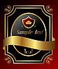 ID 3191224 | Decorative ornate gold frame | Stock Vector Graphics | CLIPARTO