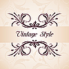 Vector clipart: vintage background
