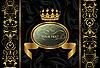 богато-украшенный фон с короной