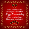 Valentine greeting card with heart | Stock Vector Graphics