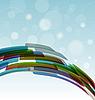 Vector clipart: tehnology background light blue