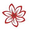 Vector clipart: Cartoon flowers