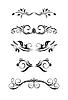 vintage ornamental elemets