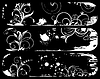 Vector clipart: Set abstract grunge banners