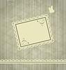 Векторный клипарт: Старомодной гранж фон открытки