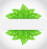Vector clipart: Bio concept design eco friendly banner
