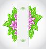 Bio concept design eco friendly banner with green