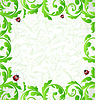 Vector clipart: Eco friendly background with copy space for your