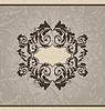 Vector clipart: Revival ornamental card or invitation