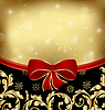 Vector clipart: Christmas holiday ornamental decoration for design