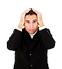 Problems of businessman | Stock Foto