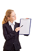 ID 3278251 | Business woman with represent folder | High resolution stock photo | CLIPARTO