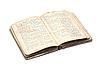 Photo 300 DPI: Open old religious book
