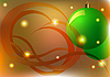 Photo 300 DPI: Christmas card with balls