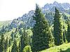 Mountain landscape Trans-Ili Alatau | Stock Foto