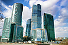 Moscow skyscrapers | Stock Foto