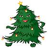 Векторный клипарт: танцующее дерево
