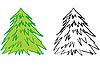 Векторный клипарт: елка