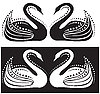 Swans | Stock Vector Graphics