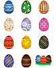 Easter eggs | Stock Vector Graphics
