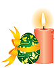 candle and the egg