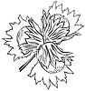 Vektor Cliparts: Haselnüsse