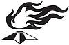 Vector clipart: Eternal fire