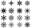Vector clipart: Snowflakes set